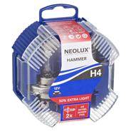 Neolux Hammer H4 N472EL Lampe 12 Volt 60/55 Watt, 2 Stück