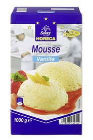 Horeca Select Mousse Vanille 1 kg Packung