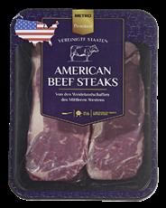 Metro Premium American Beef Rumpsteak vak.-verpackt, 2 Stück à ca. 300 g