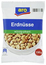 aro Erdnüsse Würzig Pikant fettfrei geröstet 150 g Packung