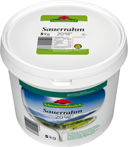 Schwarzwaldmilch Sauerrahm 20 % 5 kg Eimer