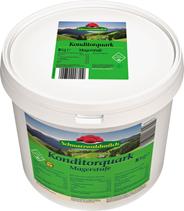 Schwarzwälder Konditoren Magerquark 0,2 % Fett 5 kg Eimer