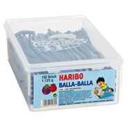 Haribo Balla Stixx Himbeere- und Brombeere 150 Stück, 1,125 kg 8 Dosen