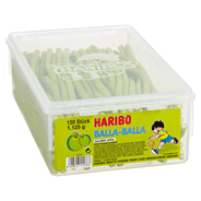 Haribo Balla Stixx Apfel 150 Stück, 1,125 kg 8 Dosen