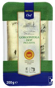 Cascina Verdesole Gorgonzola Piccante pikant, 48 % Fett i. Tr. 200 g