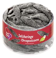 Red Band Fruchtgummi Salzheringe 100 Stück Dose