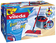 Vileda Easy Wring UltraMat Box (UltraMat Wischer & Rotationseimer)