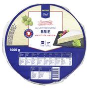 METRO Chef Brie französicher Weichkäse, 60 % Fett i. Tr., Kuhmilch - 1 kg Packung