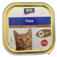 aro Menü für Katzen Wild 100 g Schachtel