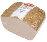 Schwamm Fleischkäse vorgebacken, 1/2 Stücke, vak.-verpackt 1,5 kg Stücke