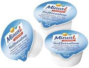 MinusL laktosefreie Kaffeesahne 10% Fett 10 x 10 g Packung