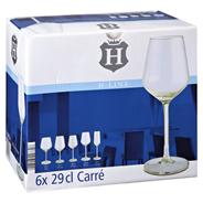 H-Line Weißweinglas Carré 29 cl 6 Stück