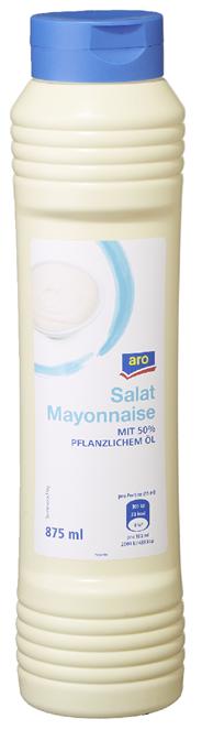 aro Salat-Mayonnaise 50 % Fett - 875 g