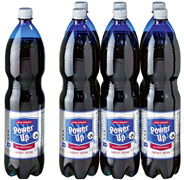 Power up Energy Drink - 6 x 1,50 l Flaschen