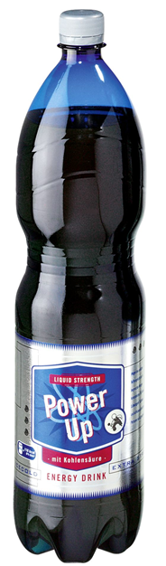 Power up Energy Drink - 1,50 l Flasche