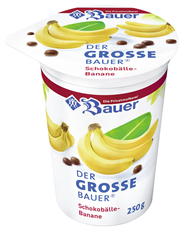 Bauer Der große Bauer Schokobälle-Banane 3,5 % Fett 250 g Becher