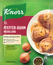 Knorr Fix Pfeffer-Rahm Medaillons 35 g