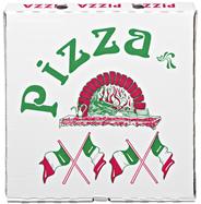 Pizzakartons 45 x 45 x4,5 cm 100 Stück Packung