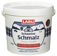 Laru Schweineschmalz 99,7 % Fett 10 kg Eimer