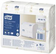 Tork Extra Weiches Einzelblatt Toilettenpapier T3-System, 2-lagig 4 x 252 Stück Packung