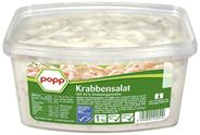 Popp Tiefseekrabbensalat Tiefseekrabbensalat Tiefseekrabbensalat, verzehrfertig, im 1 kg Becher 1 kg Becher