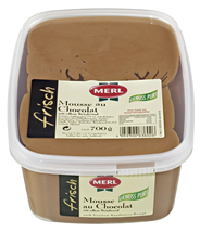 Merl Mousse au Chocolat Mousse au Chocolat, 700 g, 31,1 % Fett, 25 % Kakaoanteil 700 g Becher