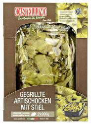 Castellino Gegrillte Artischocken mit Stiel 2 x 900 g Schale