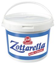 Zott Mozzarella Rolle 45 % 3 kg Eimer
