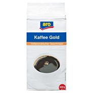 aro Kaffee Gold gemahlen, vak.-verpackt - 500 g Packung