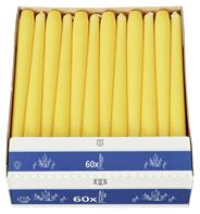 H-Line Spitzkerze Yellow 240 x Ø 22 mm Brenndauer: 7 - 8 h 60er Karton