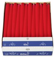 H-Line Spitzkerze Red 240 x Ø 22 mm Brenndauer: 7 - 8 h 60er