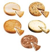 Edna Kuchenbox 5-fach sortiert 10 Stück à 1,16 kg, fertig gebacken, Mix aus: 2 x Käse-Apfel-Kuchen, 2 x Käsekuchen, 2 x Pflaumen-Streusel-Kuchen, 2 x Quark-Joghurt-Mandarinen-Kuchen, 2 x Zupfkuchen 11,6 kg Karton