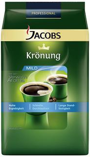 Jacobs Krönung Mild gemahlen 1 kg Beutel