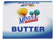 MinusL laktosefreie Butter 82 % Fett 125 g Packung