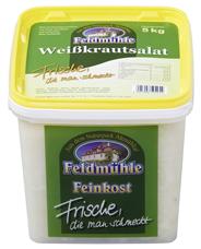 Feldmühle Weißkrautsalat mit Essig, Öl & etwas Kümmel 5 kg Eimer