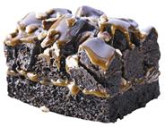 Edna Rockslide Brownie 16 Stück à 126 g, fertig gebacken, verzehrfertig, geschnitten 2 x 2,01 kg Karton