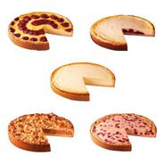 Edna Kuchenmischbox 5-fach sortiert 10 Stück á 1,11 kg, verzehrfertig, Mix aus Käse-, Käse-Kirsch-, Himbeer-Pudding-, Buttermilch-Johanisbeer-, Apfel-Streusel-Kuchen 11,1 kg Karton