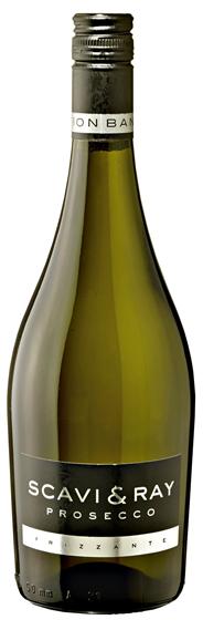 Scavi & Ray Prosecco Frizzante halbtrocken 6 x 0,75 l Flaschen