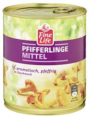 Fine Life Pfifferlinge mittel 850 ml Dose