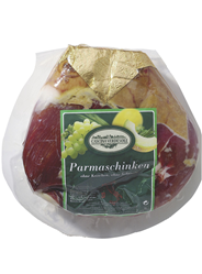 Cascina Verdesole Prosciutto di Parma Pelatello luftgetrocknet, ohne Schwarte, aus Italien ca. 5,5 kg