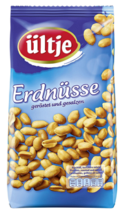 Ültje Erdnüsse geröstet, gesalzen 1 kg Beutel