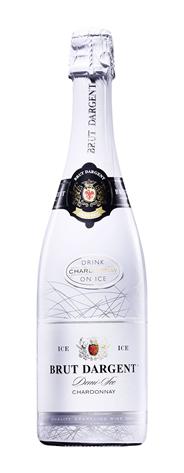 Brut Dargent Chardonnay Sekt halbtrocken - 6 x 750 ml Flaschen