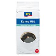 aro Kaffee Mild gemahlen, vak.-verpackt 500 g Packung
