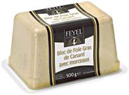 Feyel Entenleber Block mit 30% Stücken 500 g