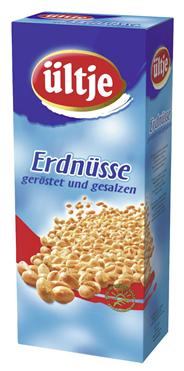 Ültje Erdnüsse Gesalzen Portionspackung geröstet 1176 x 1,4 kg Packungen