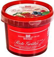 Grütze Rote Cafe Moehring Rote Grütze 53% Obst 1 kg Becher