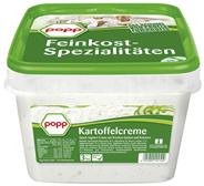 Popp Kartoffelcreme Quark-Dip mit frischen Gurken und Kräutern 3 kg Eimer
