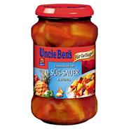 Uncle Ben´s Sauce süß sauer extra Ananas 400 g Glas