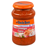 Uncle Ben´s Sauce indisch rotes Curry cremig 400 g Glas