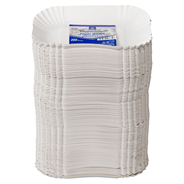Horeca Select Pappschale eckig Weiß - 250 Stück